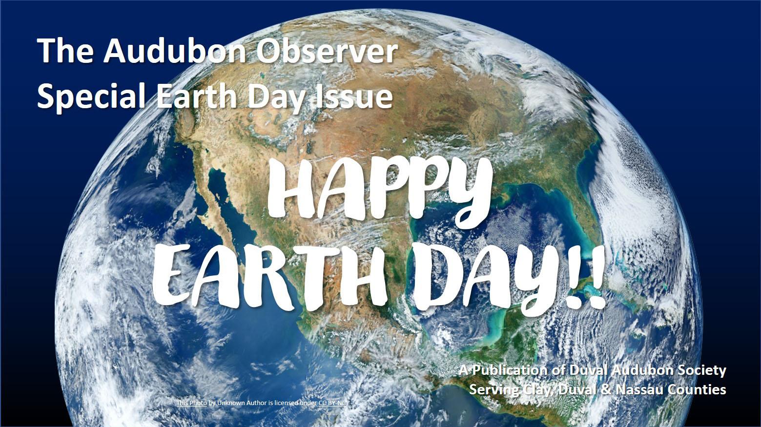 2020 EarthDay Observer Banner