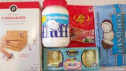 Edible birdhouse ingredients 1