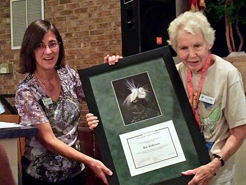 Pat Anderson award